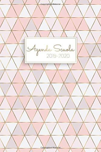 Agenda Scuola 2019 - 2020: Agenda Settimanale Agosto 2019 - Agosto 2020 | Giornaliera, Anno scolastico Calendario - Agenda dello studente | Materiale Scolastico Regali per Ragazzi