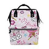 FHTDH Bebé Cambio de pañales Bolsos cambiadores Mochi Happy Halloween Theme Fashion Diaper Bags Mummy Backpack Multi Functions Large Capacity Nappy Bag Nursing Bag for Baby Care for Traveling