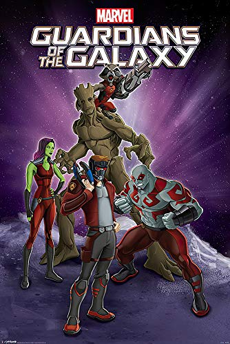 POSTER STOP ONLINE Guardians of The Galaxy - Marvel Comics...