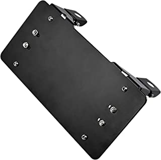 Astra Depot Black Stainless Steel Flip-Up Winch Roller Fairlead 8 3/4