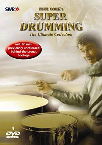 Pete York - Super Drumming - Collection [4 DVDs]
