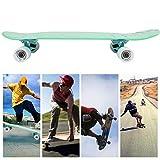 Neufday PU Deck Skateboard PU Roues Street Long Skateboard pour Enfants Adulte Skateboard