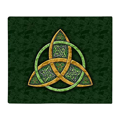 CafePress Celtic Trinity Knot Throw Blanket Soft Fleece Throw Blanket, 50'x60' Stadium Blanket