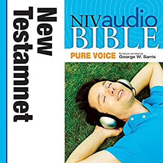 Pure Voice Audio Bible - New International Version, NIV (Narrated by George W. Sarris): New Testament cover art