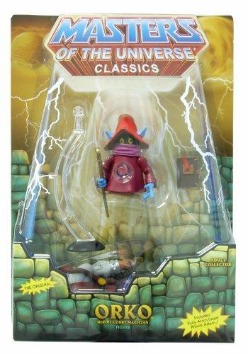 Masters of the Universe Classics He-Man Orko figure with Prince Adam MOTU