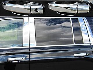 QAA fits 15-20 Cadillac Escalade, 14-18 Silverado, 15-20 Suburban, 15-20 Tahoe, 14-18 Sierra, 15-20 Yukon 8 pc ABS Handle ...