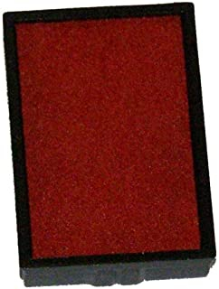 Replacement Stamp Pads for the Shiny Brand S-300, S-303, S-304, S-309 Self-inking Stamps (Red)
