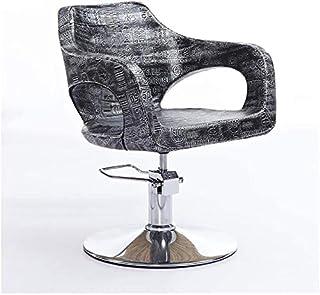 Shengluu Sillas De Escritorio Salón de sillas giratorias Silla moderna del pelo del peluquero de altura ajustable giratoria de oficina Silla giratoria de escritorio Telesilla silla de la computadora S