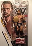 Mattel WWE Then Now Forever Limited Edition Triple-H HHH - Figura de acción (with WHC Belt), Multicolor, FNJ94