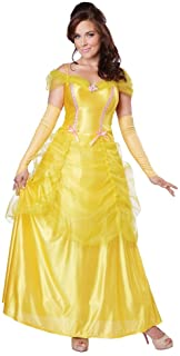 beauty and the beast yellow ball gown