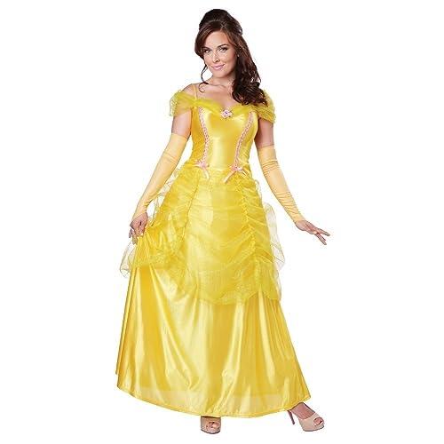 2fd7df4116e0e California Costumes Women's Classic Beauty Fairytale Princess Long Dress  Gown