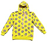 Kpop GOT7 Just Right The Same Style Hoodie Jackson Pullover Cute Donut Sweater Yellow