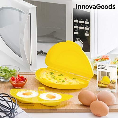 GKA Mikrowelle Rührei Maker Omelett pochierte Eier Spiegelei Maker Omelettmaker Rühreimaker Rührei Bereiter