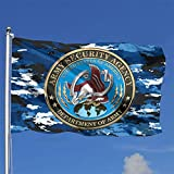 Us Army Security Agency Flag 4X 6 Foot American Us Outdoors Flag-Uv Fade Resistant and Vivid Color