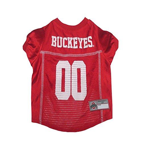 NCAA OHIO STATE BUCKEYES DOG Jersey, Medium