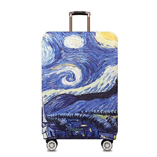 Washable Elastic Luggage Bag Cover Protector 31-33 Inches Luggage Cover Elastic Suitcase Protective Cover Travel Luggage Case Cover