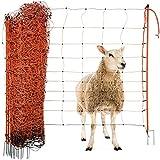 Agrarzone red para ovejas con electricidad naranja 50m...