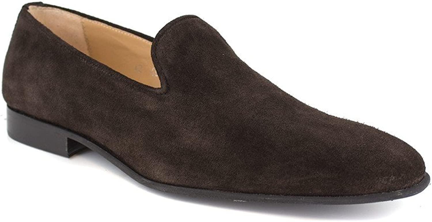 Slipper J,Bradford Brown Leather JB-Maxime