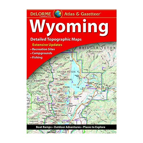 Delorme Atlas & Gazetteer: Wyoming (Delorme Atlas & Gazeteer)