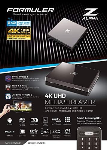 Formuler Z Alpha 4K Ultra HD Android Media Streamer