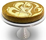Andy Anand Sugar Free Pumpkin Spiced Cheesecake 9' Fresh Made in Traditional Way, Amazing-Delicious-Decadent & Greeting Card, Birthday Valentine, Christmas Mothers day Anniversary Gourmet Food (2 lbs)