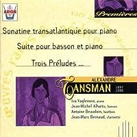 Sonatine Transatlantique Pour Piano by Alexandre Tansman