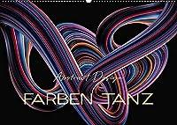 Farben Tanz Abstract Design (Wandkalender 2022 DIN A2 quer): Abstrakt, traumhaft, unwirklich, schoen - Bilder der Fantasie in sinnlichen Taenzen. (Monatskalender, 14 Seiten )