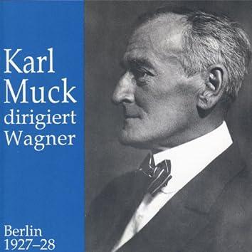 Karl Muck dirigiert Wagner