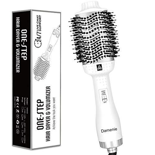 Aibesser Cepillo de aire caliente Upgrade 5 en 1 para peinar el pelo, para dar volumen al cabello, para todo tipo de peinados