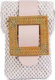 BGYL Pochette pour téléphone portable à bandoulière pour femme – Petit sac à bandoulière en cuir PU pour téléphone portable de moins de 7 pouces - - Beige #2., Small
