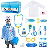 Fajiabao Doctor Kits for Kids Medical Set Toys Doctor Coat Indoor Family Cosplay Games Dre...
