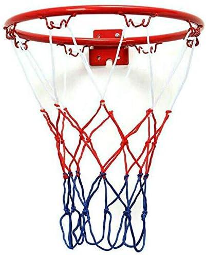JVSISM 32cm Wall Mounted Basketball Hoop Netting Hangi Popular popular Metal Rim Over item handling ☆