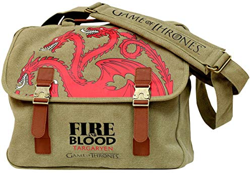 Game Of Thrones Targaryen - Bolso Bandolera de Lona