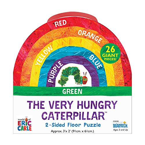 The World of Eric Carle The Very Hungry Caterpillar 2-Sided Floor Puzzle