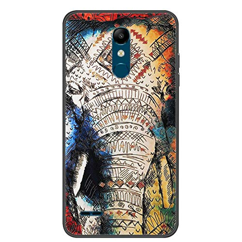 Hongjian Funda para LG K11 Phone TPU Soft Silicone Case Cover 21