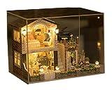 MTTLS Casa de muñecas Estilo de casa muebles Kit Irlanda mini decoración casa de artesania madera sala regalo muñeca casa de muñecas