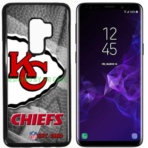 Chiefs Kansas CTY Football New Black Samsung Galaxy S9 Case by Mr Case
