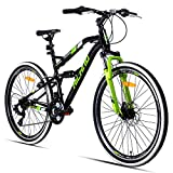 Hiland 26 Inch Mountain Bike MTB Bicycle with 18 Inch Steel Frame...