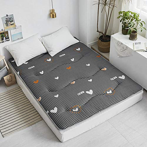 Tatami - Alfombrilla de dormir para el suelo de dormir, transpirable, para futón japonés Tatami, suave, gruesa, para colchón de dormitorio de estudiante LYFWMGOD/E, 90 x 200 cm