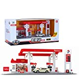 XuBa Skala Sound + Light Service Tankstelle Shop Straße Auto Spielhaus Spielzeug Set French Total...