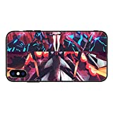 Transparent Souple Coque pour for iPhone 7/8/SE 2020, Zero Two-Darling in The FranXX-Girl Fundas...