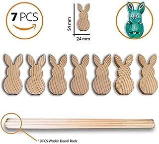 Best bunny wood cutout Reviews