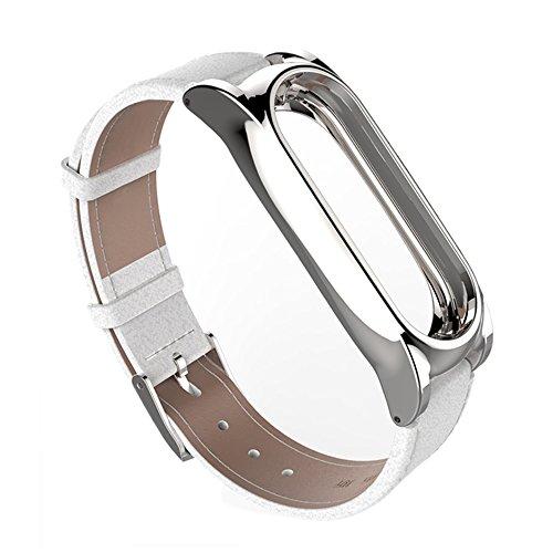 Beetest Correa de Reloj para Xiaomi mi Band 2 Bandas,Slim magnetismo Shell reemplazo Pulsera Correa de Reloj Inteligente