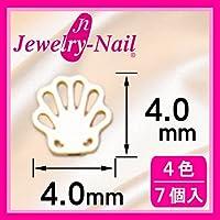 [フレーム]ネイルパーツ Nail Parts フレームシェル(S) ホワイト 日本製 made in japan