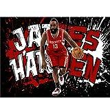 puzzles De Madera James Harden Basketball Star 1000 Piezas Madera para Adultos Juguete Educativo(Color:si)
