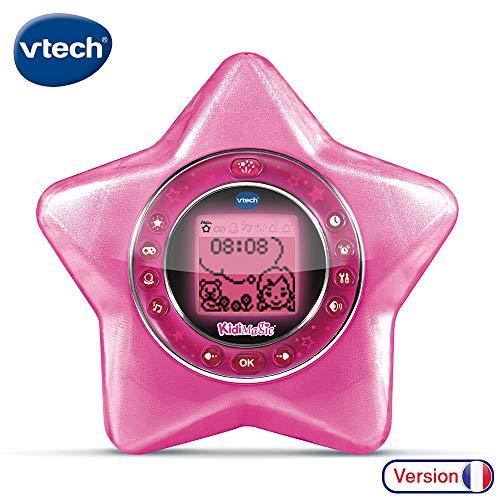 VTech - Kidimagic Starlight rose - Réveil enfant interactif avec projection animée au plafond