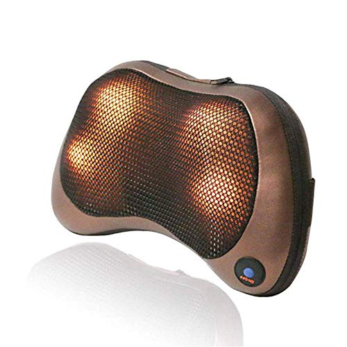QXXNB Kabellos infrarot ComfyCar Home Massagekissen 8 Halswirbelsäule Körpermassagegerät-8 Köpfe,4 Köpfe