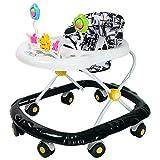 SHRFC Andadores de bebé para niños y niñas con Juguetes de Actividad, Altura Ajustable con Bandeja y Rueda Universal de 360 °, ayudante de Aprendizaje para Caminar para niños pequeños