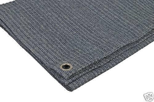 Leisurewize Supreme Breathable 2.5 x 7m Charcoal/Grey Caravan Awning Carpet Tent Groundsheet