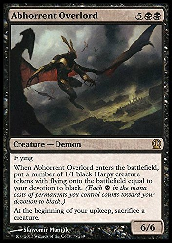Magic The Gathering - Abhorrent Overlord (75/249) - Theros